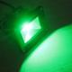 10W LED Прожектор - Зелена Светлина