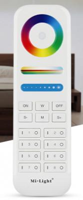 Дистанционно за RGB+CCT контролер 8 зони, 2.4 GHz