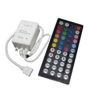 RGB  контролер с IR 44 бутона дистанционно