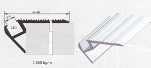Алуминиев LED профил за стъпала