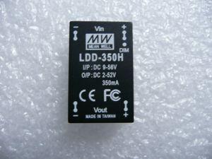 DC към DC постоянно токов драйвер 350mA до 56V
