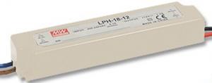 LED ТРАНСФОРМАТОР - ВОДОУСТОЙЧИВ, 18 W, 12V/MW, IP67