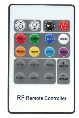 RF RGB контролер 20-k, 12-24V/3x4A