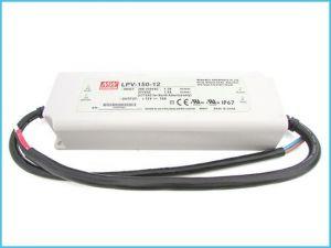 LED ТРАНСФОРМАТОР - ВОДОУСТОЙЧИВ, 150 W, 12V/MW, IP67