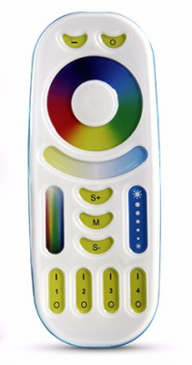 Дистанционно за RGBWW контролер 4 зони, 2.4 GHz