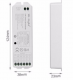RGB+CCT контролер, 8 канала, 2.4 GHz, 5x6A